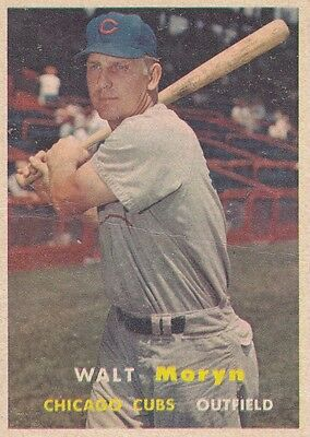 Topps 1957 #16 Walt Moryn-Chicago Cubs