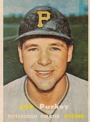 Topps 1957 #368 Bob Purkey-Pittsburgh Pirates
