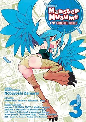 Monster Musume: Monster Musume Vol. 3: I Heart Monster Girls-OKAYADO