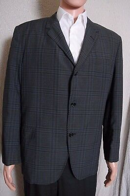 Vintage 50s / '60s Andover light weight plaid 3 button blazer sport coat 47