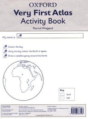 Oxford Very First Atlas: Activity Book-Patrick Wiegand