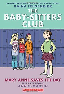 Baby-Sitters Club Graphix: Mary Anne Saves the Day 3-Ann M. Martin