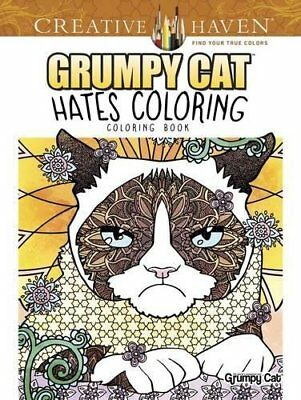 Adult Coloring: Creative Haven Grumpy Cat Hates Coloring
