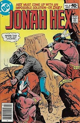 JONAH HEX #38  Jul 80