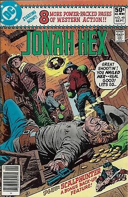 JONAH HEX #40  Sep 80