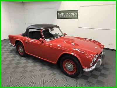 1967 Triumph TR4A TR4A Roadster 1967 TRIUMPH TR4A. OLDER RESTORATION. ATTRACTIVE CAR WITH GREAT MECHANICALS.