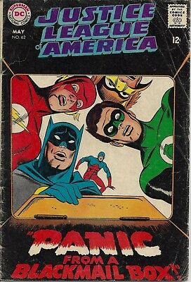 JUSTICE LEAGUE OF AMERICA #62  May 68
