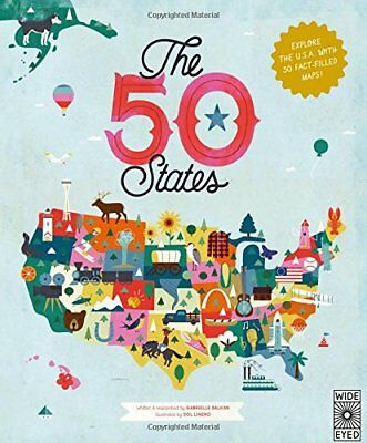 The 50 States: The 50 States: Explore the U.S.A. with 50 Fact-Filled Maps!-Gabri