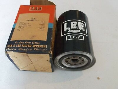 Oil Filter Cadillac 1960 1961 Vintage Nos Lee Lf-7 / Lf-5 New Eldorado Deville