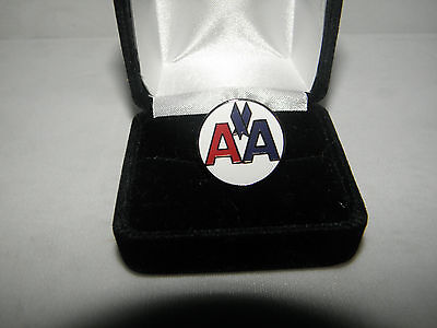 Collectible American Airlines Classic Lapel Tack Pin Aa Pilot F/a Christmas Gift