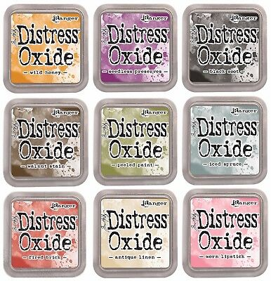 Tim Holtz Ranger 3x3 Distress Oxide Ink (Acid Free and Non-toxic)