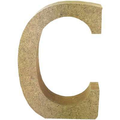 Smooth MDF Blank Shape Serif Letter C 499993366666