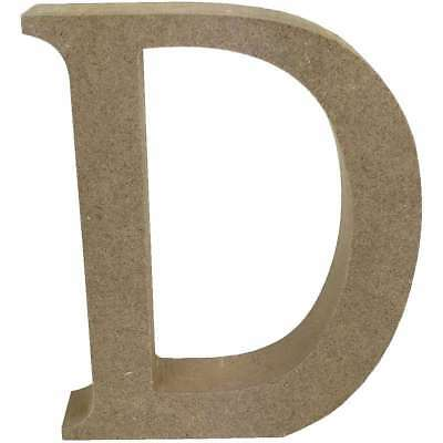 Smooth MDF Blank Shape Serif Letter D 499993366673