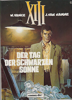 XIII Number 1 - 8 Single Albums all in 1st Edition Carlsen Verlag (0-1/1)