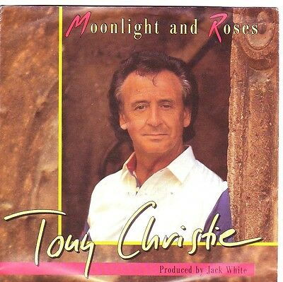 """""""7"""" - TONY CHRISTIE - Moonligt and Roses"""
