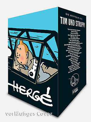 Tim and Struppi Complete Edition 24 Volumes Hardcover in Slipcase/Box