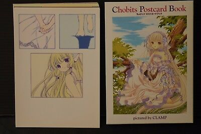JAPAN Clamp: Chobits Postcard Book