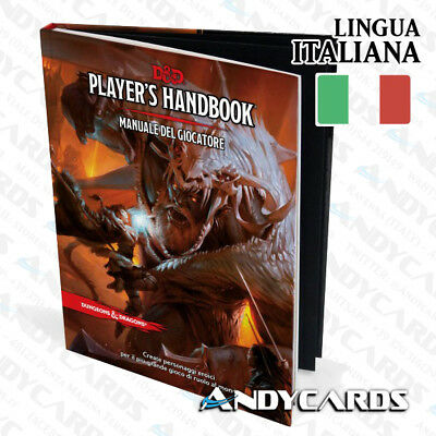 PREVENDITA ☻ Manuale del Giocatore / Player's Handbook Dungeon & Dragons D&D 5ED