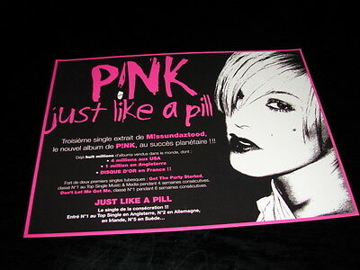 Pink Just Like A Pill!!!!!!!!!!!!!rare French Press/kit
