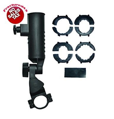 EZE Kaddy Umbrella Holder Black 19,25,30,32 mm Clamps Included Heavy Duty New