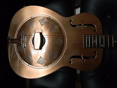 Recording King resonator guitar