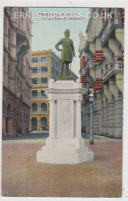Early Postcard, China, Hong Kong, Monument Of The Duke Of Connaught