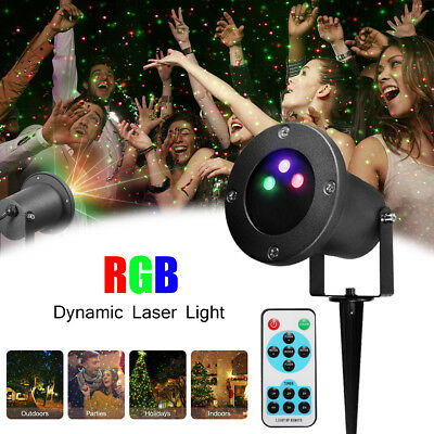Xmas 80 in1 RGY Laser Projector LED Stage Lights Lamp DJ Disco Party Lighting