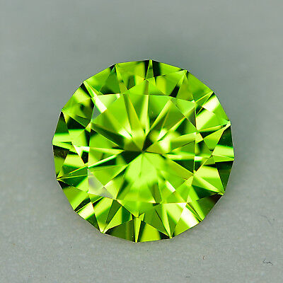 CUSTOM CUT - 8.5MM - 2.45ct - PERIDOT - PAKISTAN