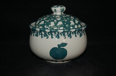 Tienshan Apple Sugar Bowl and Lid