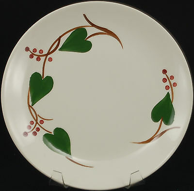 Blue Ridge Southern Potteries Stanhome Ivy Luncheon Plate