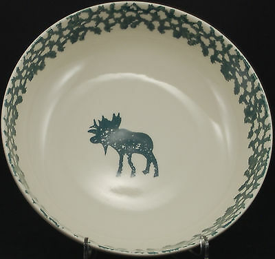 Tienshan Moose Country Round Vegetable Bowl
