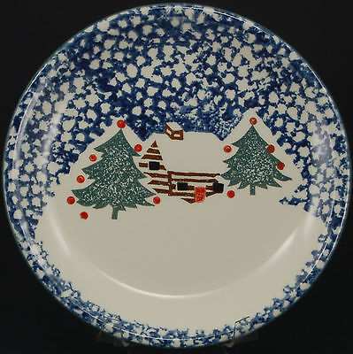 Tienshan Cabin in the Snow Dinner Plate