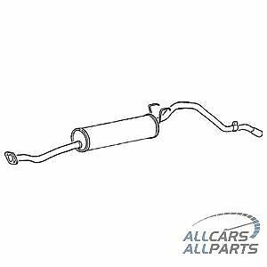 Tail Pipe Toyota Hilux 2.4D Diesel 4X4 Ln110 88-94 Exhaust Silencer Box