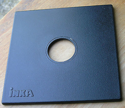 genuine Inka 140mm sinar fit  lens board panel for copal  compur 0 34mm hole
