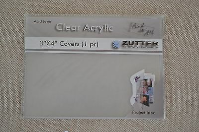 Zutter Binding machine acrylic covers books journal photo albums Christmas gifts
