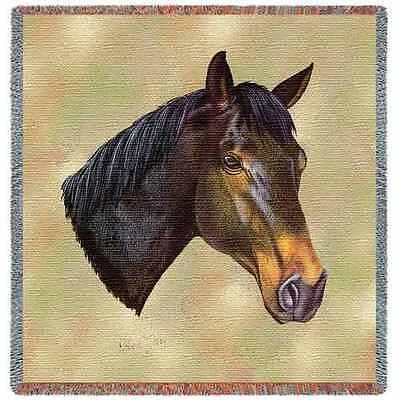 Lap Square Blanket - Thoroughbred II by Robert May 2369