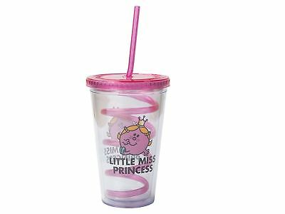 Little Miss Princess Cup with Lid and Curly Straw