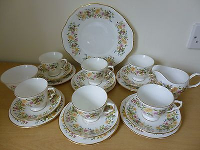 Colclough Hedgerow Bone China Tea Set