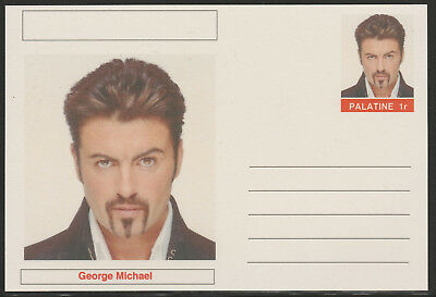 CINDERELLA - 5868 - GEORGE MICHAEL  on Fantasy Postal Stationery card