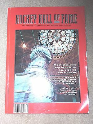 1993 Hockey Hall Of Fame Official Yearbook,soft Cover,190 Pg.