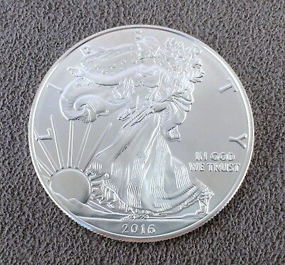 1989 1 Silver Eagle Walking Liberty One Dollar Coin