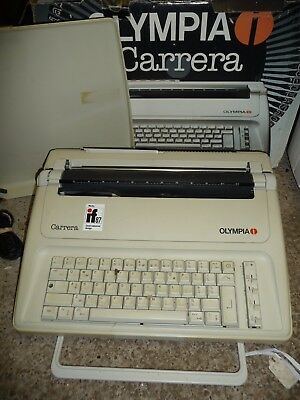 Typewriter electric OLYMPIA CARRERA excellent  - one of the best