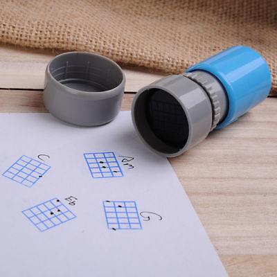 Chord Seal Chop Stamp No Ink Needed for Ukulele Guitar Perfect For Teachers