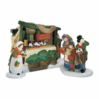 """Department 56 Heritage Village Collection """"Christmas Pudding Costermonger"""" 58408"""