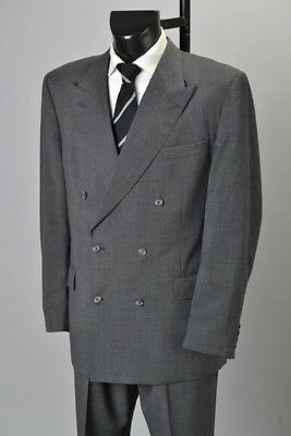 Gentleman's English Made Ede & Ravenscroft s44L Lightweight Worsted Suit. CAN