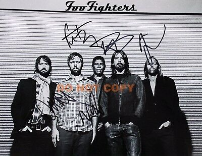 REPRINT RP 8x10 Signed Autographed Photo Picture: Dave Grohl, Foo Fighters