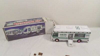 1998 Hess RV with Motorcycle & Buggy in box