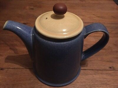Denby Juice Teapot Apple Green / Lemon Yellow / Blue Berry