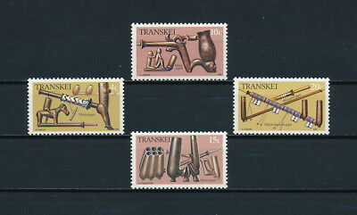 Transkei   44-7 MNH, Carved Pipes, 1978