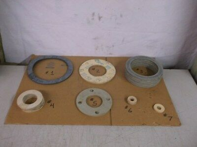 Approximately 82 Assorted Pipe Gaskets for Industrial Use